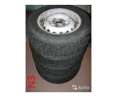 Комплект зимних колес на ВАЗ