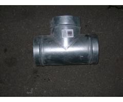 Тройник d 160/160 из оцинкованной стали